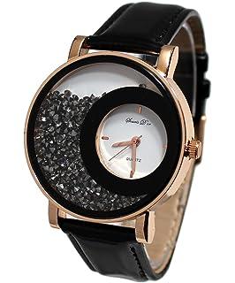 48c196a334a coffret montre femme Gold pink strass cristal + bracelet double tour  stardust dolce vita