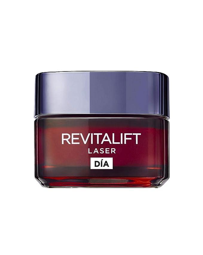 L'Oréal Paris Crema de Día Anti-Edad Efecto Piel Nueva Revitalift Láser - 50 ml