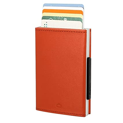 Slim Wallet Ogon Designs Cascade wallet orange