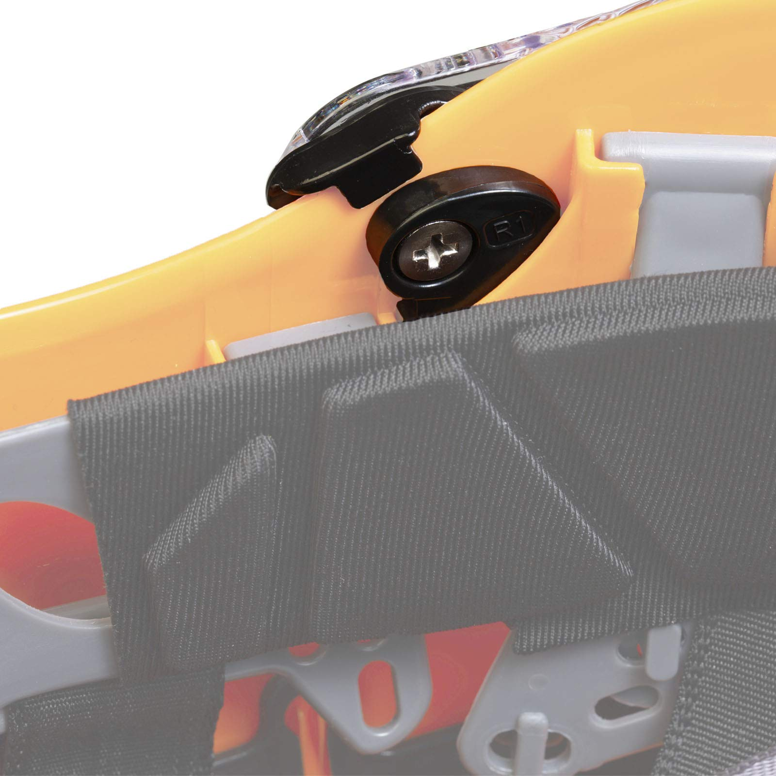 JORESTECH Sliding Retractable Integral Visor Shield for Helmet Mounted Eye Protection PPE by JORESTECH (Image #3)