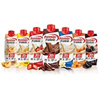 Premier Protein High Protein Shakes Variety Pack (Chocolate, Vanilla, Strawberry...