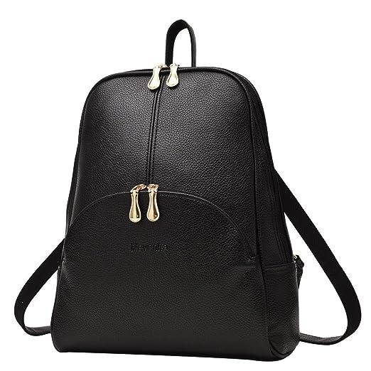 2043f1a7c8f2 Nevenka Brand Women Bags Backpack Purse PU Leather Zipper Bags Casual  Backpacks Shoulder Bags