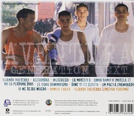 Generation Next: Aventura: Amazon.es: CDs y vinilos}