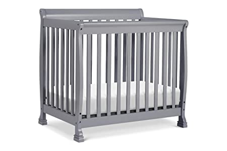 DaVinci Kalani 2-in-1 Mini Crib and Twin Bed, Grey