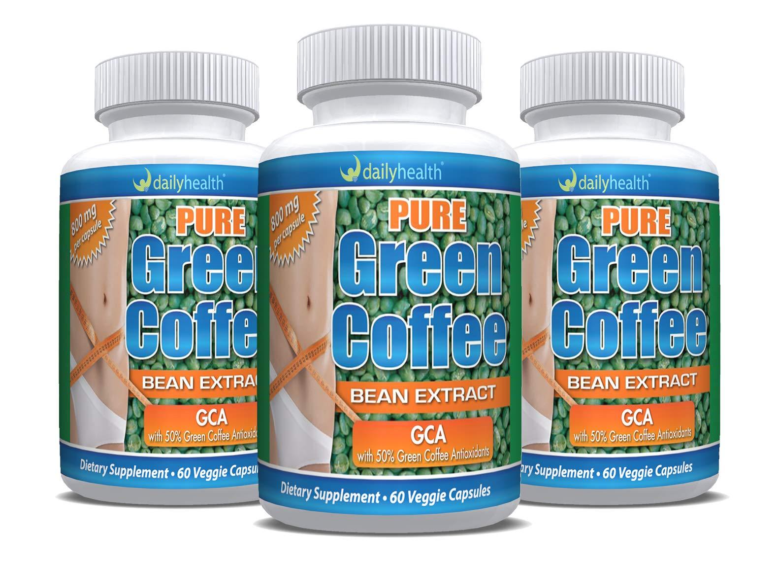 Daily Health, Green Coffee Bean GCA 180 Capsules