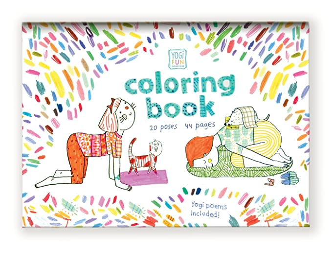 Buy YOGi FUN Kids Yoga Book For Girls And Boys With Original Rhyming Poems Coloring Pages Online At Low Prices In India