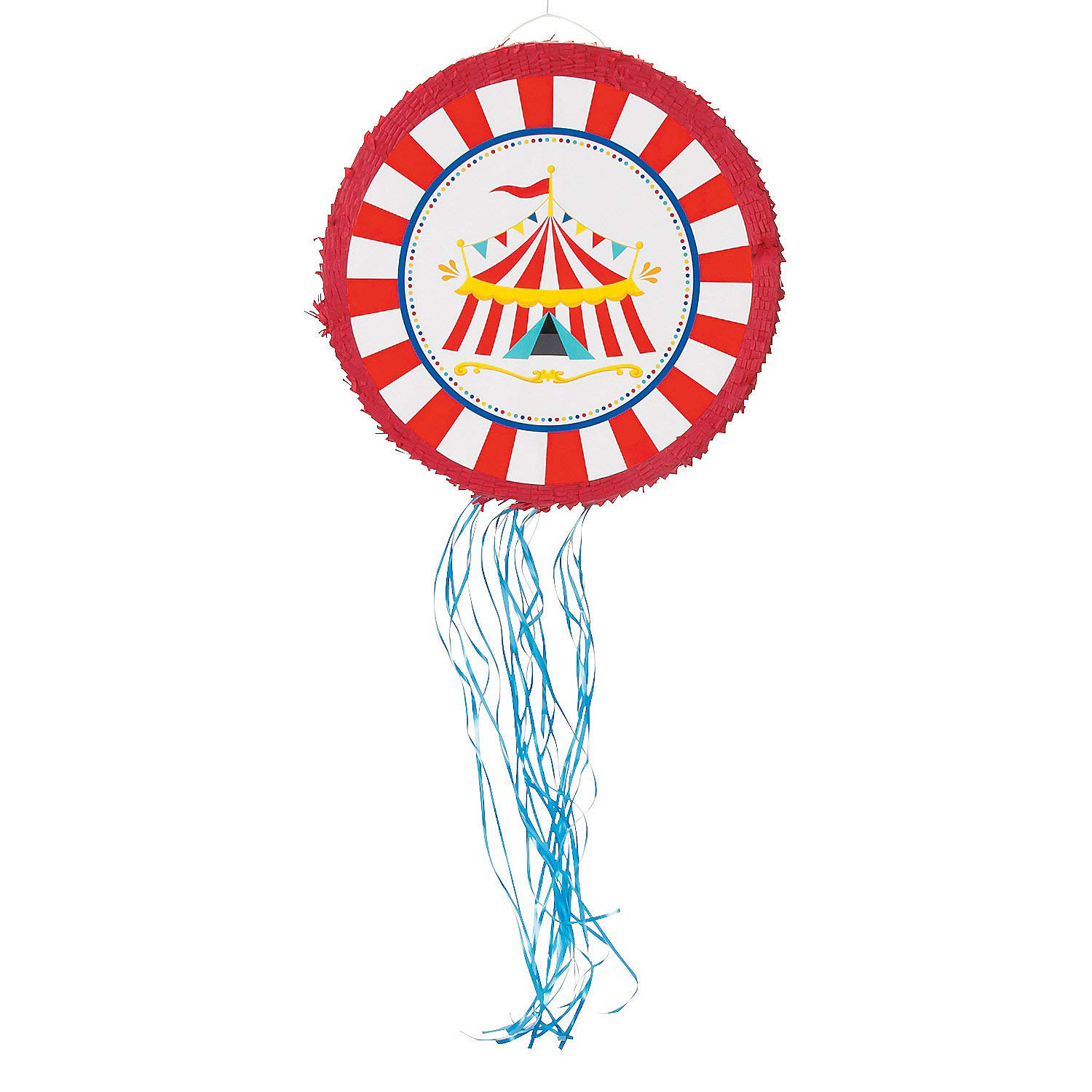 Carnival Pull Sting Pinata - Carnival and Circus Party Decorations