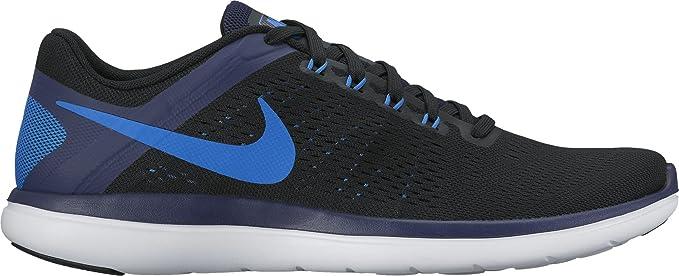 Nike Nike Flex 2016 Rn Zapatillas de Running, Hombre, Negro (Negro/(