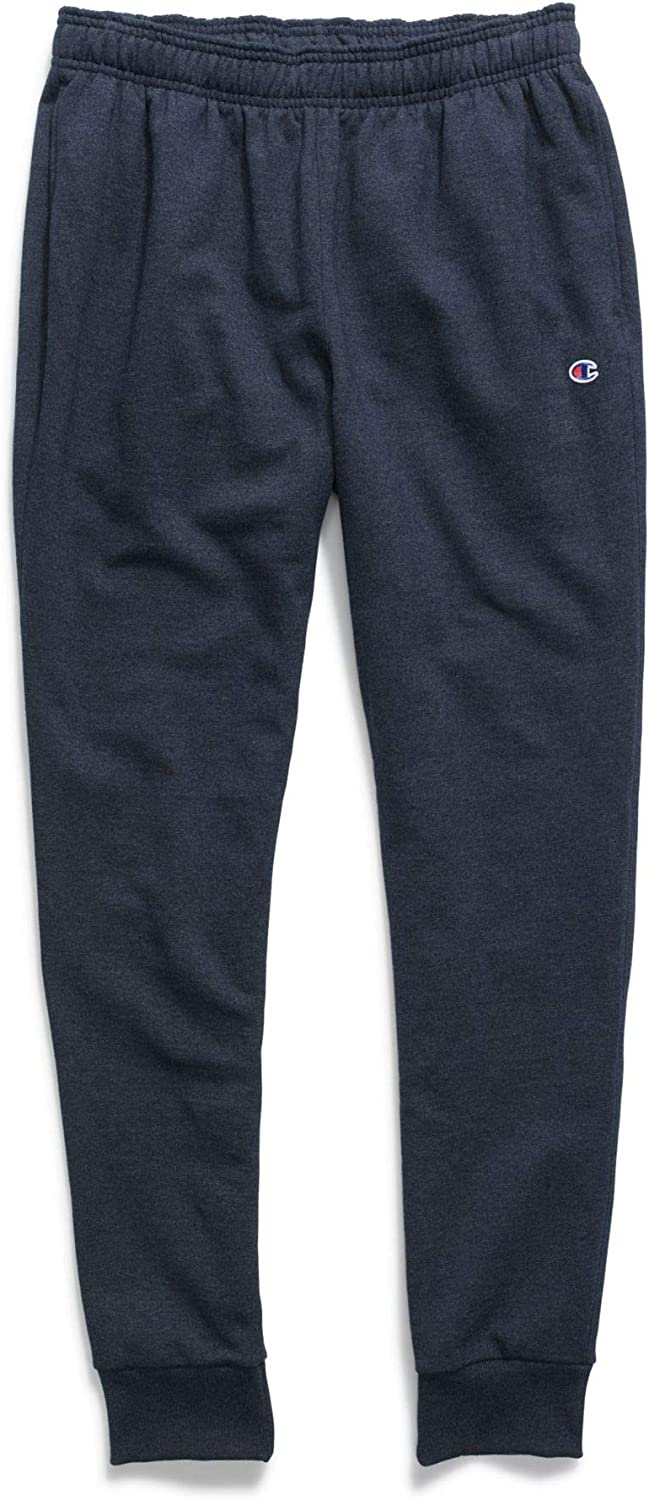 Champion Men's Powerblend Graphic Jogger: Clothing