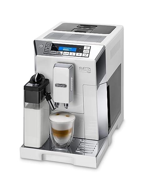 DeLonghi ECAM 45.766.W Cafetera Máquina espresso, Independiente ...