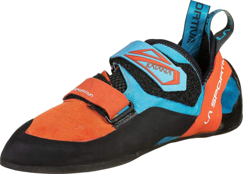 Tangerine Tropic bleu 42.5 EU La Sportiva 20l202614, Chaussures d'escalade Mixte Enfant
