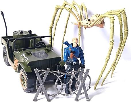 Lanard Batalla de isla de calavera de kong por araña de contacto de criatura de supervivencia: Amazon.es: Juguetes y juegos
