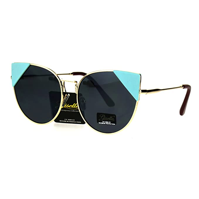 Amazon.com: Womens anteojos de sol Triángulo Esquina Color ...