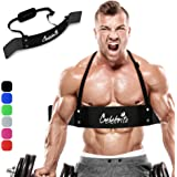 CELEBRITA Arm Blaster for Biceps & Triceps, Bicep Curl Support Isolator Gives Proven Massive Results - Heavy Duty Bicep Blast