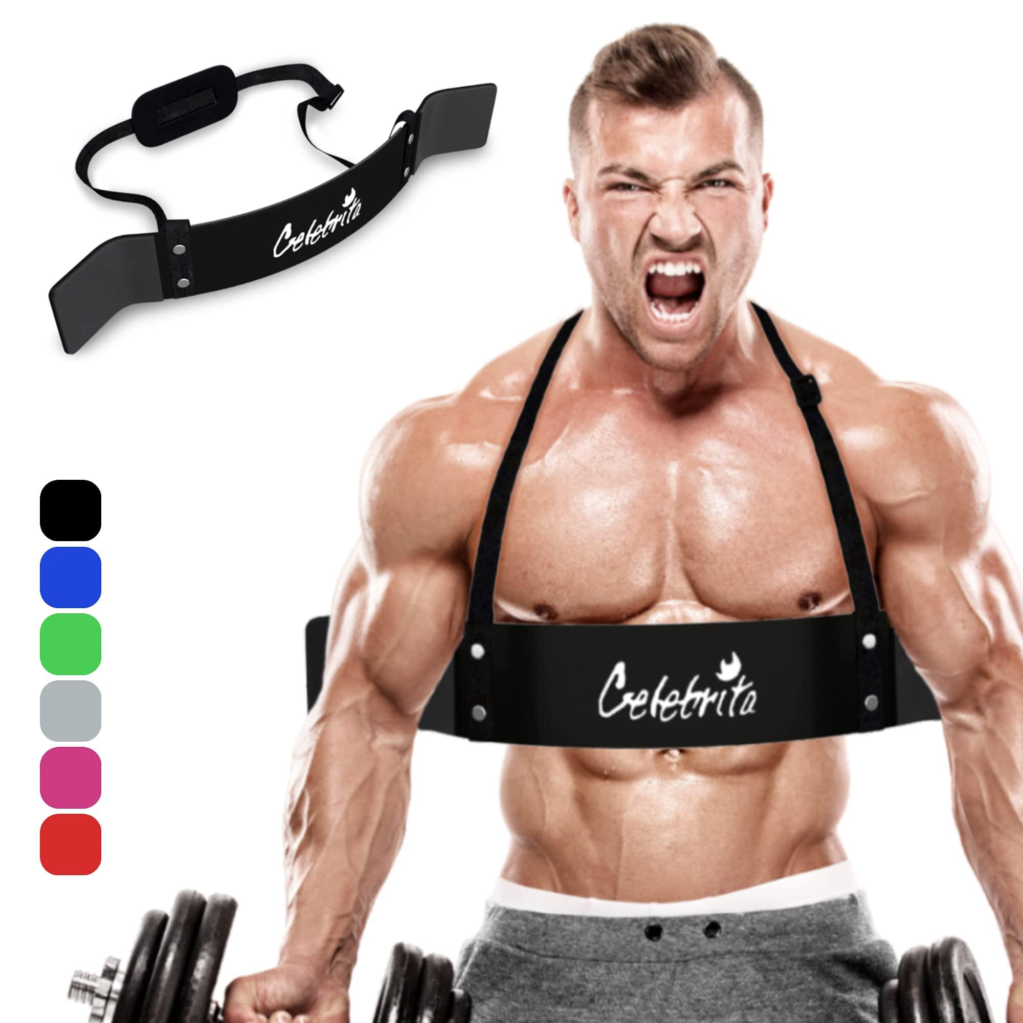 Arm Isolator Heavy Duty Blaster Curl Builder Body Building Bomber Bicep Triceps