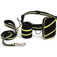 Manos libres elástico Perros cuerda (135–225cm) reflectantes Jogging cuerda nylon unidad Cinturón Ajustable perro Cuerda para jogging Correr Paseo gassibeutel bicicleta