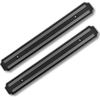 Magnetic Knife Holder (15 Inch X Set Of 2) Magnetic Knife Strip -Strong Powerful Knife Rack Storage Display Organizer…