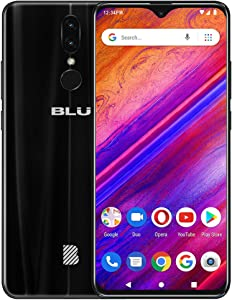 "BLU G9-6.3"" HD Infinity Display Smartphone, 64GB+4GB RAM -Black"