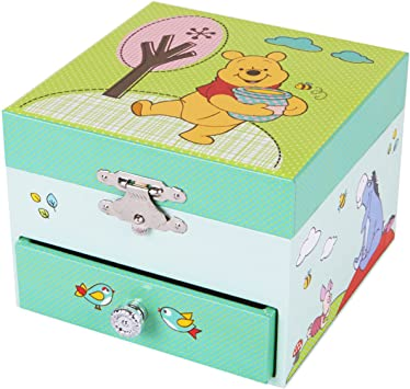 Trousselier Caja de música Disney Winnie The Pooh: Amazon.es ...