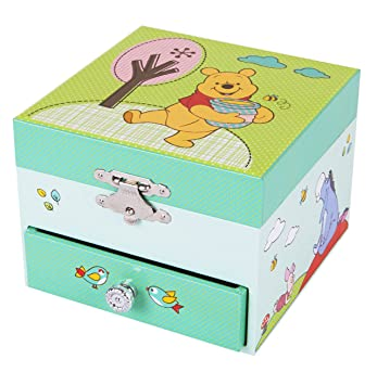 Trousselier Caja de música Disney Winnie The Pooh: Amazon.es: Juguetes y juegos