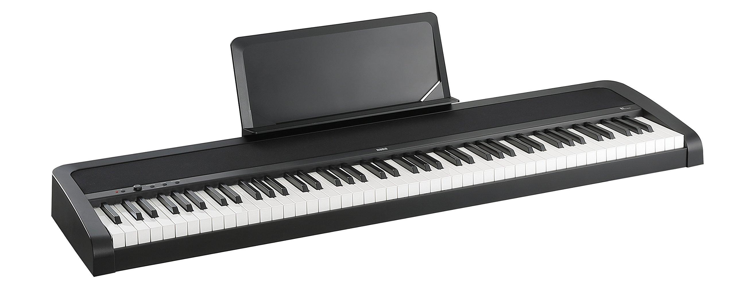 Korg B1 88 Key Digital Piano with Enhanced Speaker System Black by Korg (Image #2)