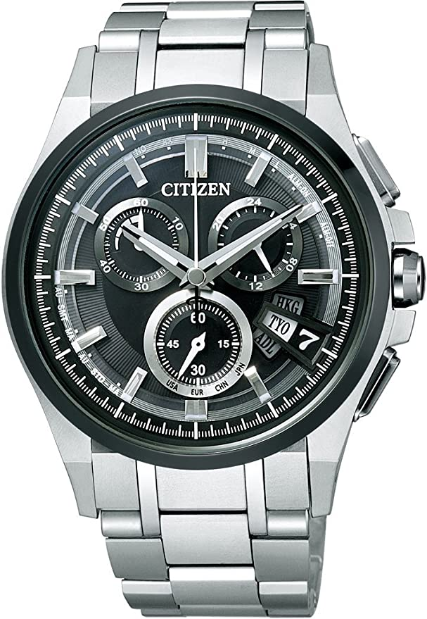[シチズン] 腕時計 アテッサ エコ・ドライブ 電波時計 BY0094-52E シルバー