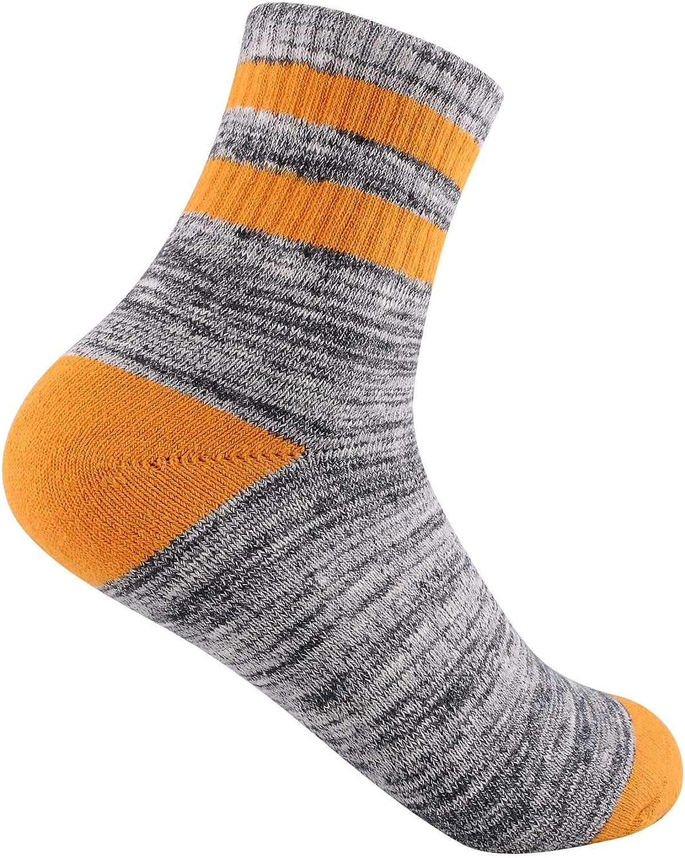talla 3-8 calcetines de recreaci/ón al aire libre para deportes acu/áticos paquete m/últiple FEIDEER Calcetines de senderismo para mujer
