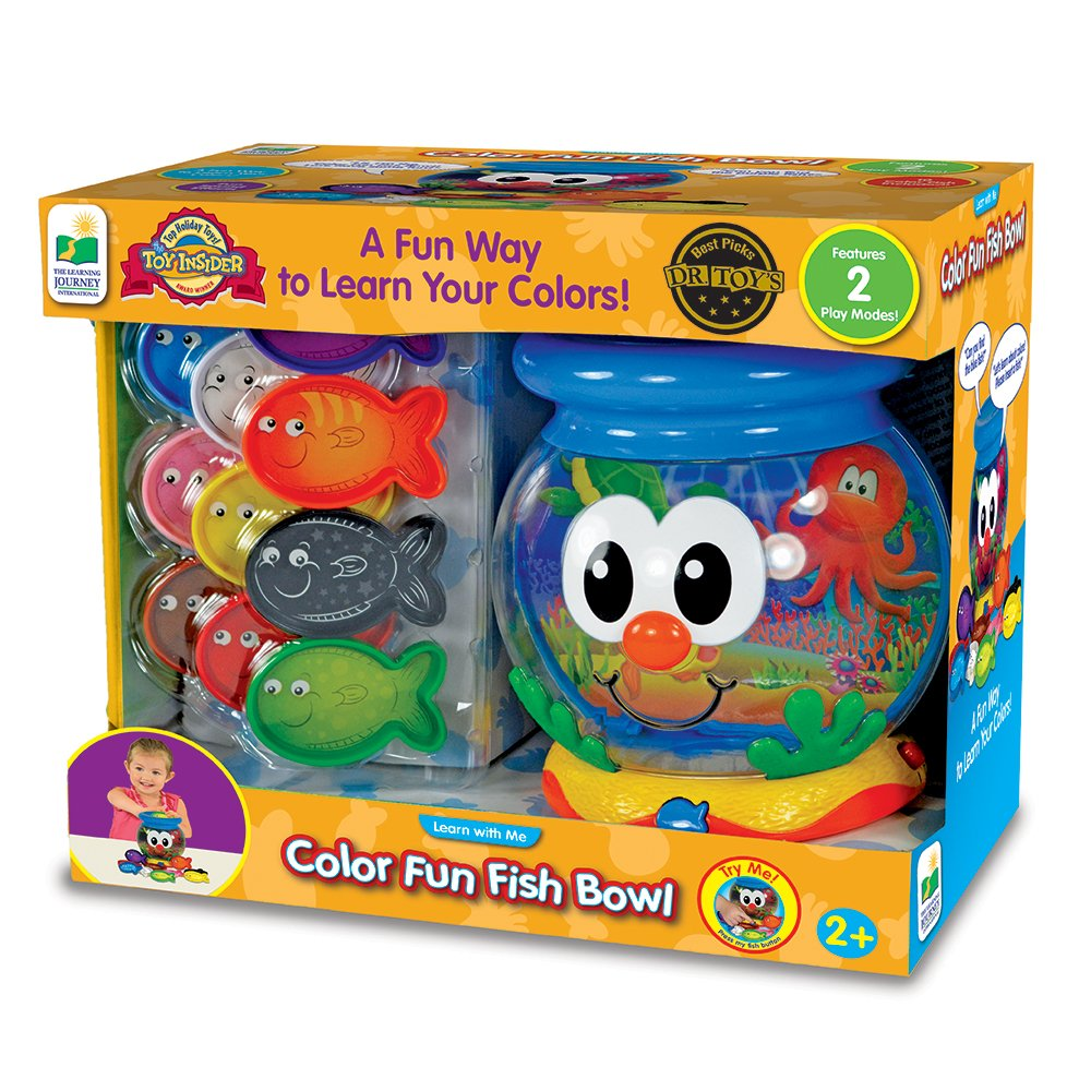 The Learning Journey Learn with Me, Color Fun Fish Bowl by The Learning Journey: (Image #4)