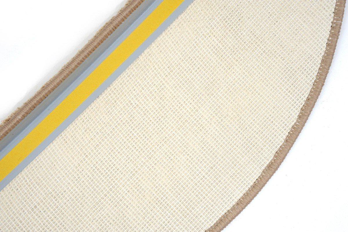 Havatex Luxus Stufenmatte Buffalo 24 cm x x x 65 cm - 15 Stück - große Farbauswahl   schadstoffgeprüft pflegeleicht schmutzabweisend strapazierfähig   Treppe Stufen-Schoner, Farbe Grau B00UUSCNRU Stufenmatten 3704ca