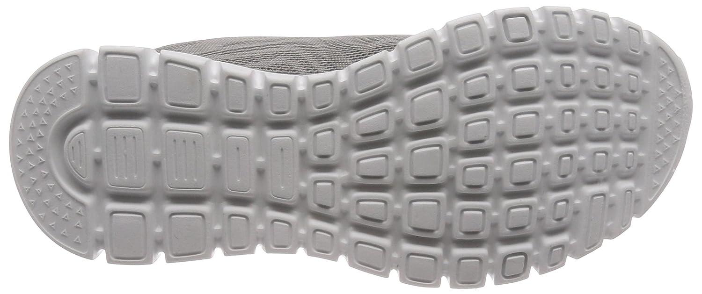 Skechers Women's Graceful-Get Connected Sneaker B076PYJ3J5 6.5 B(M) US Grey/Charchoal