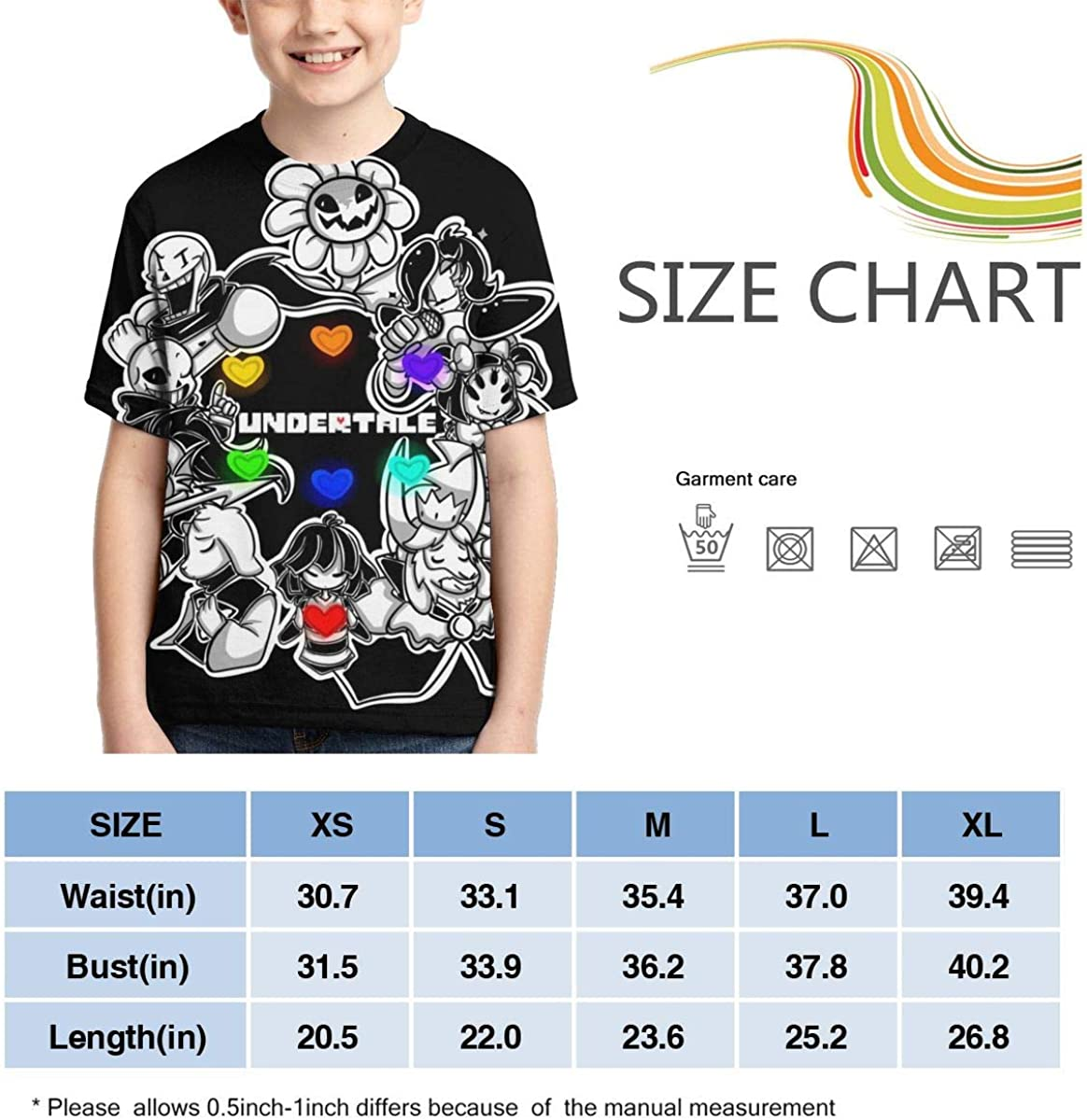 Lula Campbell Short Sleeves Original Youth and Childrens Round Neck Creative Print T-Shirt Unisex
