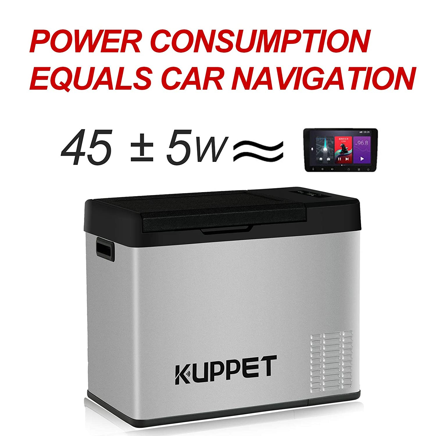 Electric Cooler for for Truck Party Travel Picnic Outdoor Camping Car Fridge KUPPET Portable Refrigerator//Freezer 16Qt