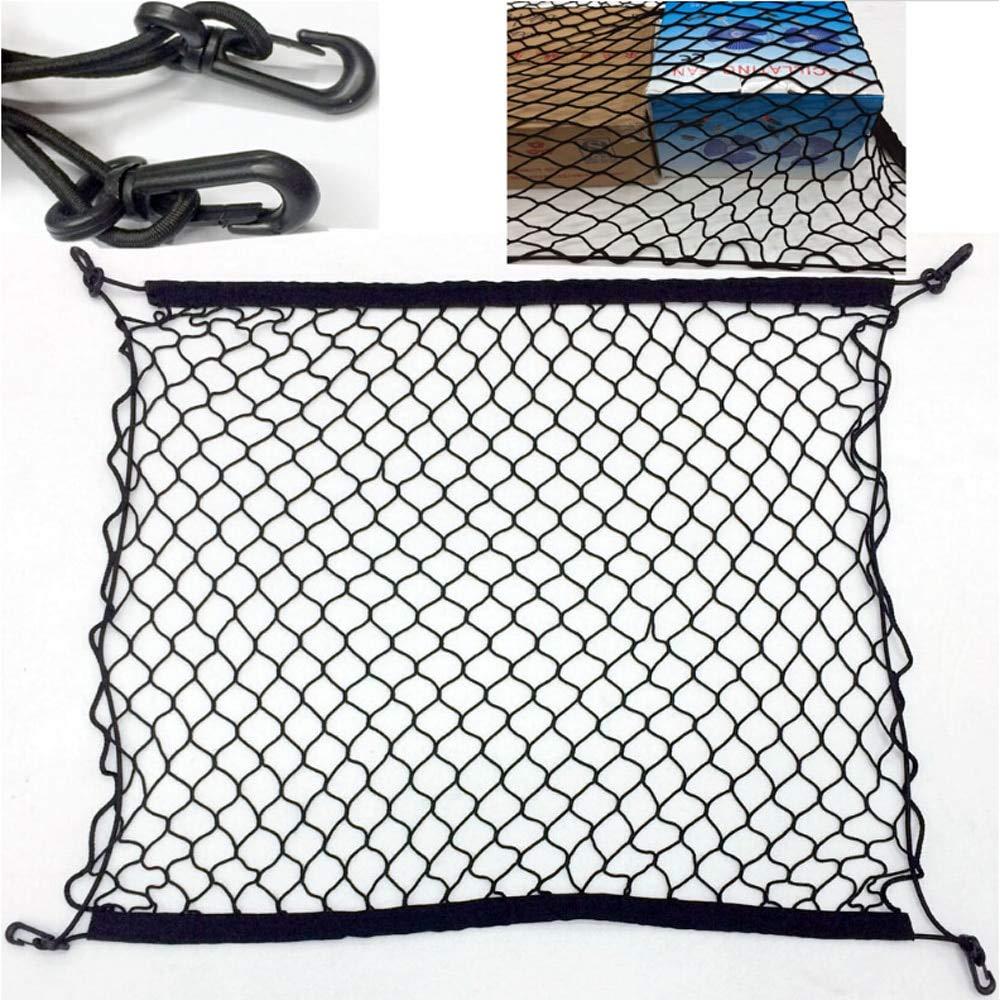 Car Trunk Rear Storage Cargo Network For W211 W203 W204 W210 W124 AMG W202 CLA W212 W220 W205 W201 ONE GLA Trunk Luggage Net Elastic Mesh Accessories