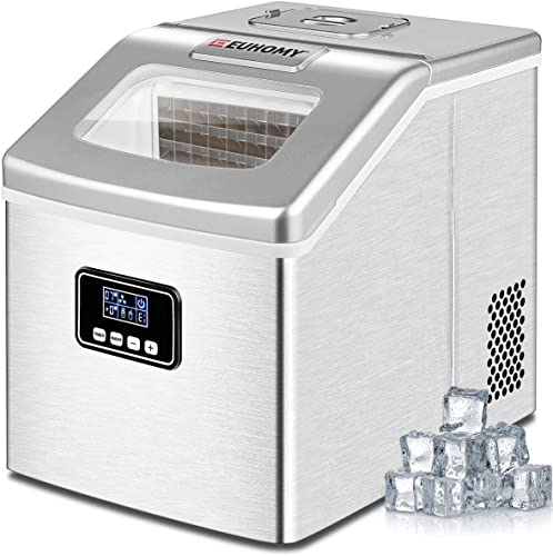 Euhomy-Ice-Maker-Machine-Countertop,-40Lbs/24H-Portable-Compact-Ice-Cube-Maker