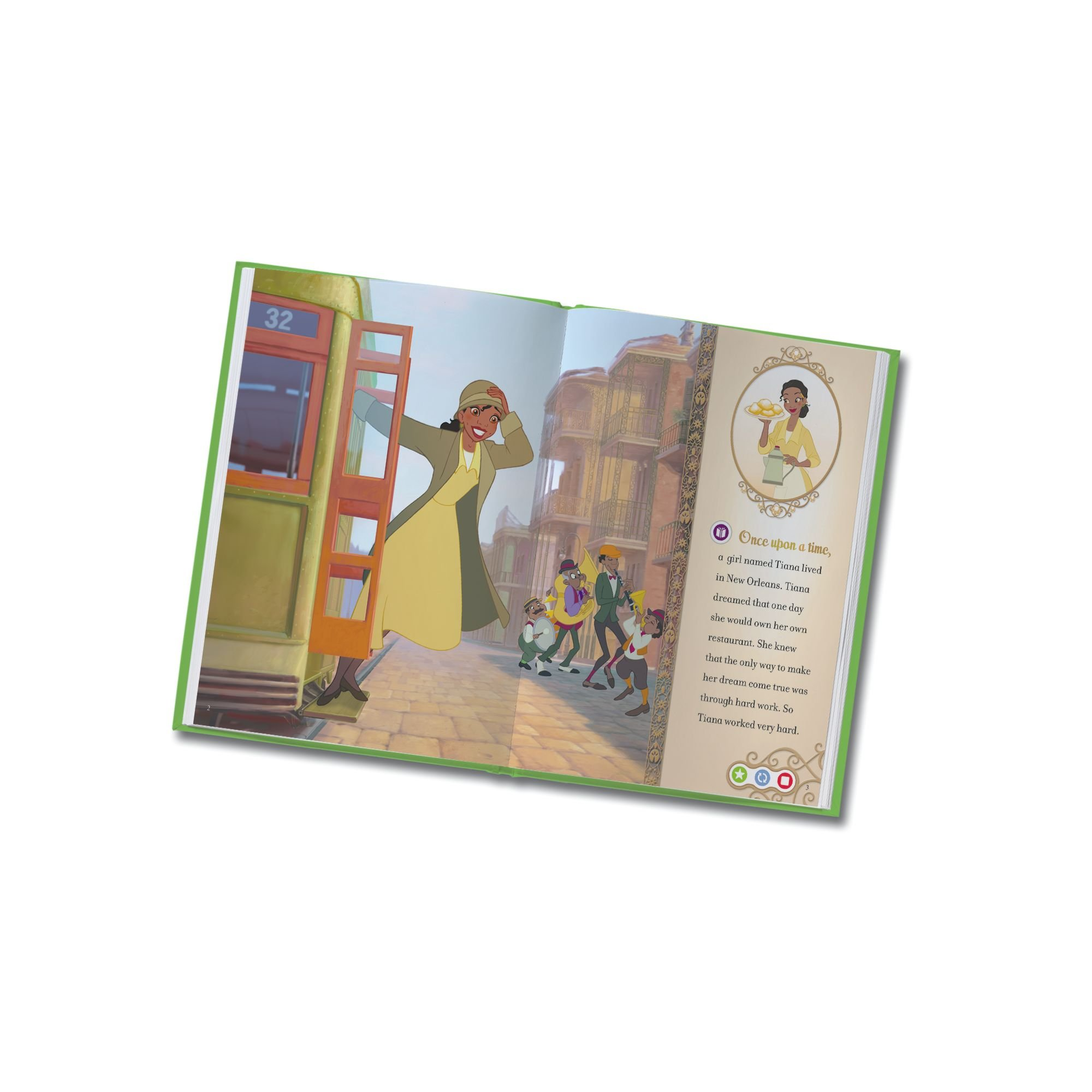 LeapFrog LeapReader Book: Disney Princess and the Frog (works with Tag) by LeapFrog (Image #6)