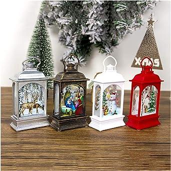 99AMZ LED Vela Adornos Navidad - Originales Rusticos Vintage ...