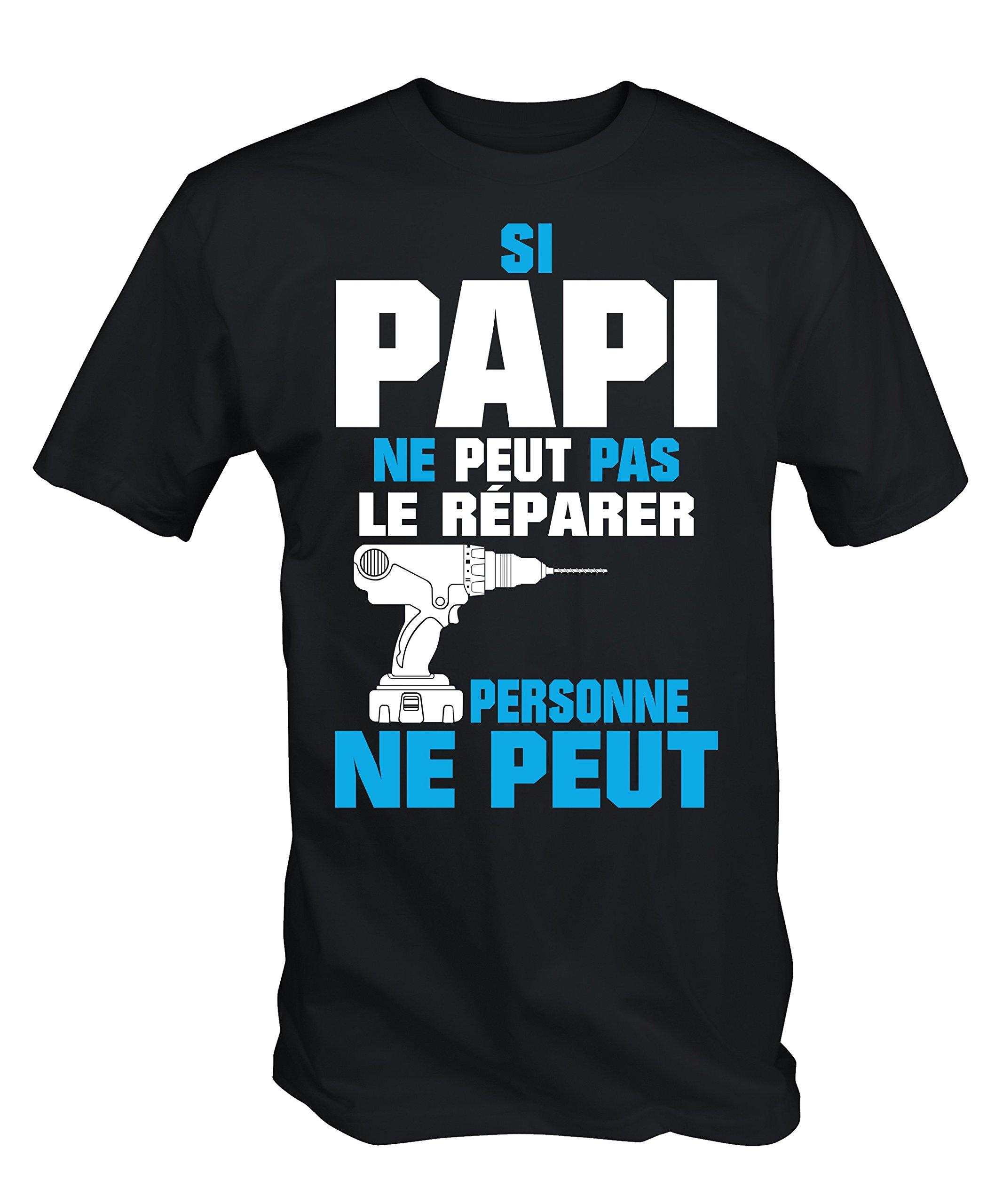 049460415e 6TN Si Papi Ne Peut Pas Le Repairer Personne Ne Peut T- Shirt