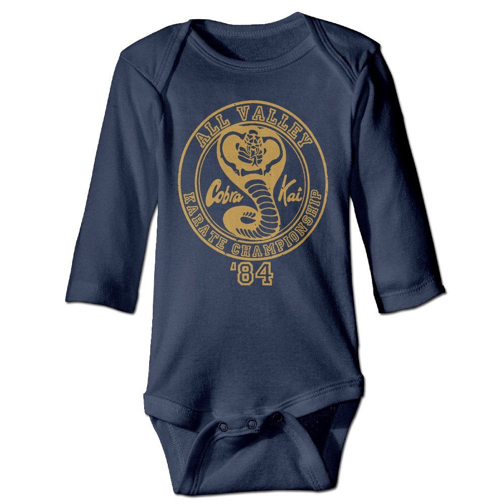 Tara Karate For 6-24 Months Baby Romper Outfits For 6-24 Months Navy