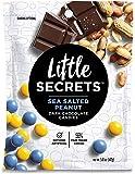 Gourmet Little Secret Chocolate (Dark Chocolate Sea Salt Peanut, 5 oz)