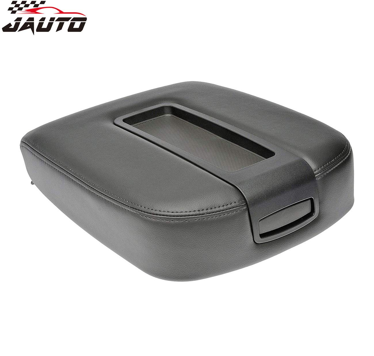 JAUTO Center Console Lid Kit for Select GM Vehicles - Replaces 15217111 15941534 - Black