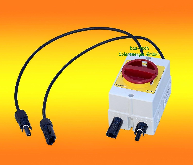 DC Trennschalter Mastervolt Soladin DC Switch 660V Solar Umschalter Ausschalter von bau-tech Solarenergie GmbH MAWDC660V