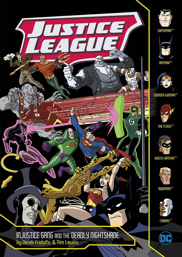 Download Injustice Gang and the Deadly Nightshade (Justice League) ebook