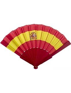 LOTE 10 Abanicos Bandera España: Amazon.es: Hogar