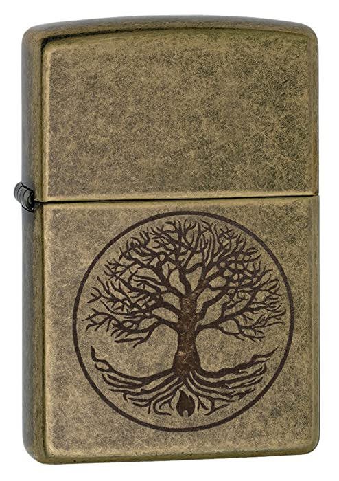 Tree of Life Pocket Lighter