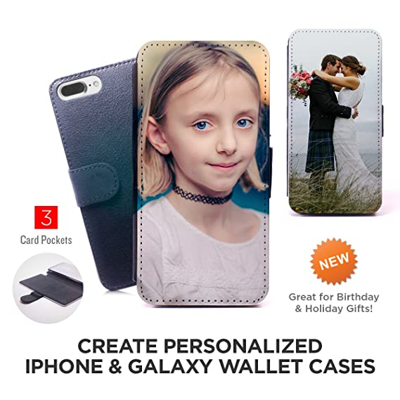size 40 a5079 31dd7 Samsung Galaxy S6 Case, Your Own Custom Photo Wallet Case for iPhone &  Galaxy Personalized Cover for Gift for Samsung Galaxy S6