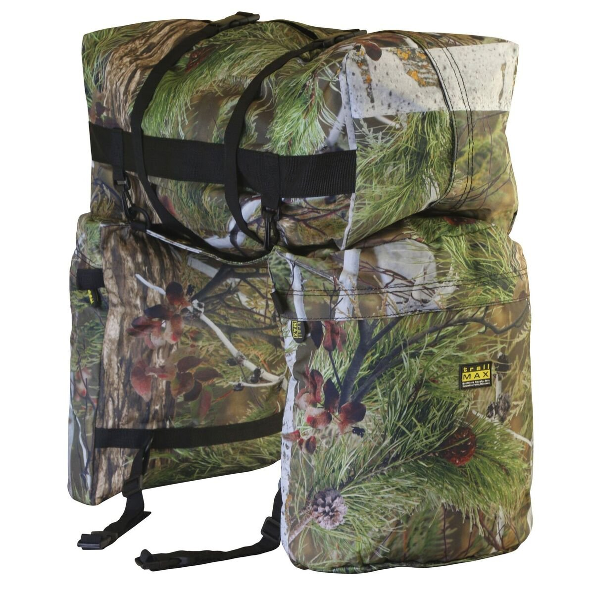 TrailMax Original Saddlebags Saddlebag Western Saddle Bag – Camo
