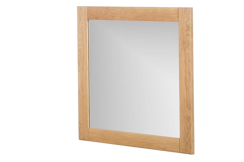 Marca Amazon - Alkove - Hayes - Espejo de madera maciza (juego de 2, roble salvaje)