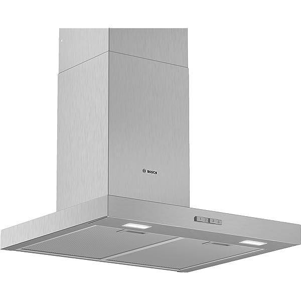 Bosch Serie 6 DWB67CM50 - Campana (410 m³/h, Canalizado/Recirculación, A, A, B, 60 dB): 305.6: Amazon.es: Hogar