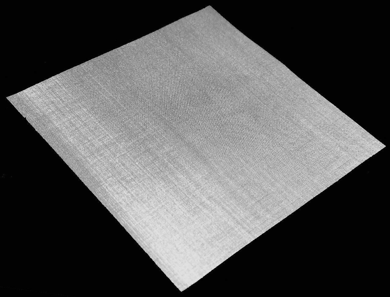 Inoxia Ltd - Grillage Mé tallique En Acier Inoxyable 316L, 200 Maille, Ouverture De 77 micron, Taille: 15cmx15cm