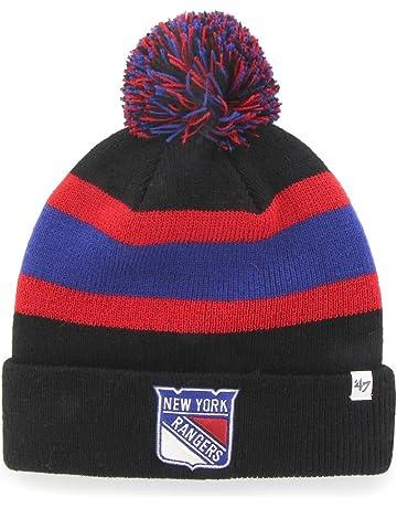 851c3612554  47 Brand York Rangers Breakaway NHL Knit Hat w Pom